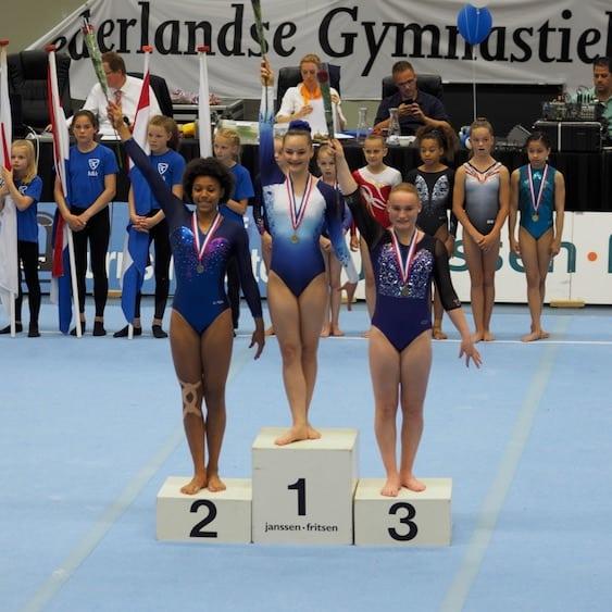 ESB Secondary Student Captures Dutch Gymnastics Vault Championship